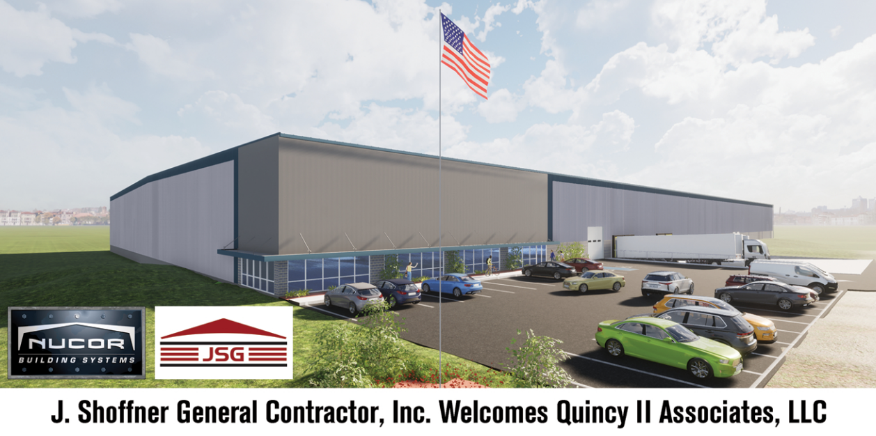 Quincy Development begins Construction in the Thomas Rose Industrial Park